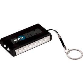 Aura 8 LED Keychain Light for Your Company