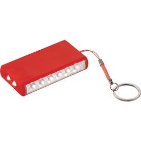 Promotional Aura 8 LED Keychain Light