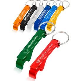 Bottle Opener Metal Keychain
