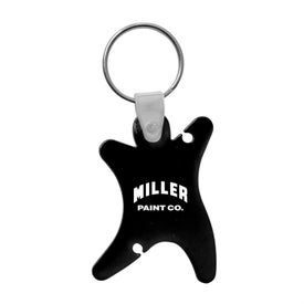 Imprinted Dancer Keychain with Ear Buds