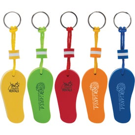 Floating Flip Flop Keytags
