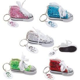 Gym Shoe Bling Keytags