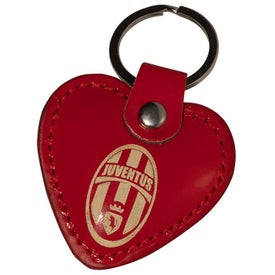 Heart Leather Keyrings