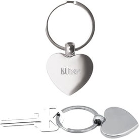 Heart Metal Key Chains