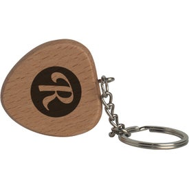 Heart Wooden Keyring