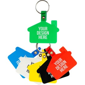House Shaped Soft Key Tag