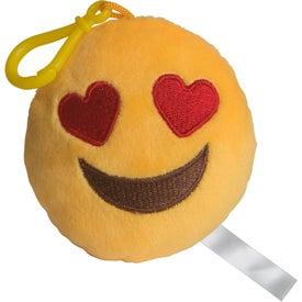 ILY Emoji Plush Keychain