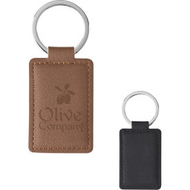 Leatherette Executive Key Tags