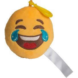 LOL Emoji Plush Keychain