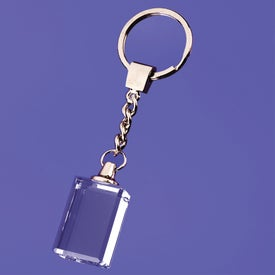 Macedonia Block Shaped Keychain
