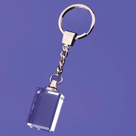 Macedonia Block Shaped Keychain