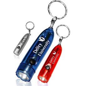 Miniature Flashlight Keychain