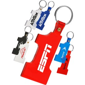 Number 1 Soft Keychain