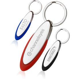 Oblong Keychain