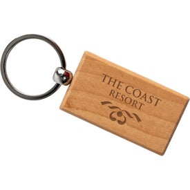 Rectangle Wooden Key Tags