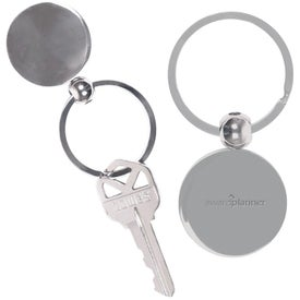 Round Metal Key Chain for Your Company