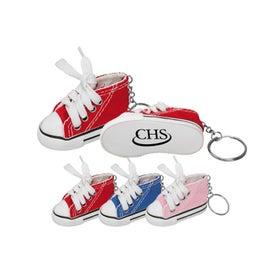 Monogrammed Sneaker Keyring