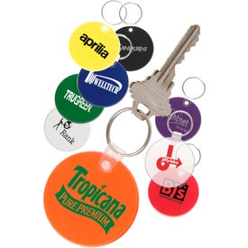 Soft Round Key Tag