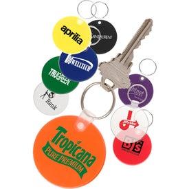 Soft Round Key Tag