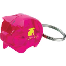 Stylish Piggy Bank Keytag