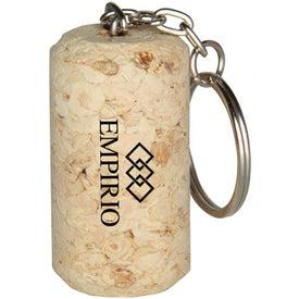 Wine Cork Keyring