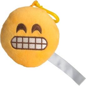 Yikes Emoji Plush Keychain