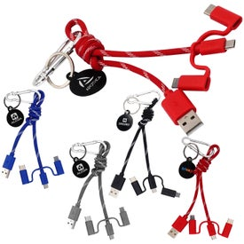 3-in-1 Knot Cable Keychain