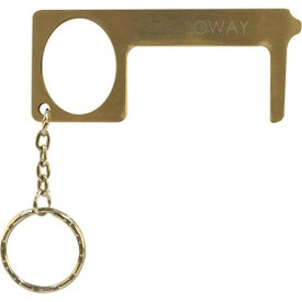 "Brass Door Openers (3.0709"" x 1.2992"" x 0.1181"")"