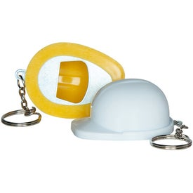 Hard Hat Bottle Opener Keychains