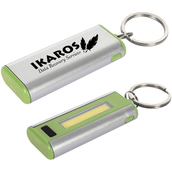 Lime Green / Gray Harker COB Key Light