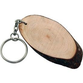 Natural Wood Keyring