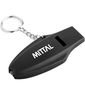 Oscen LED Whistle Keychain