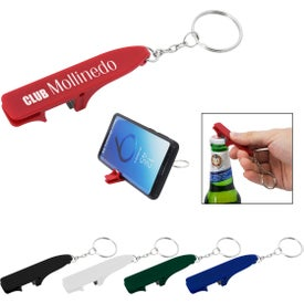 Pops Keychain with Bottle Opener