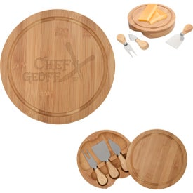 3-Piece Bamboo Cheese Server Kits