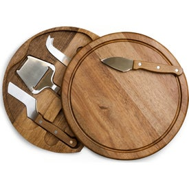 Acacia Circo Cheese Cutting Board and Tool Set