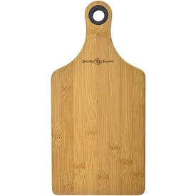 Bamboo Cheese Boards with Silicone Ring