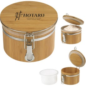 Bamboo Container (20 Oz.)