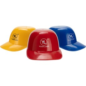 Baseball Helmet Ice Cream Bowls (8 Oz.)