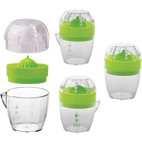 Clear / Green Citrus Juicer