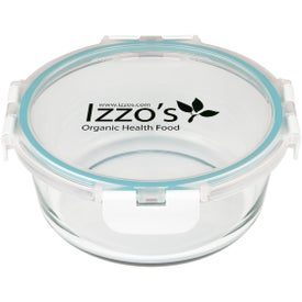 Fresh Prep Round Glass Food Container