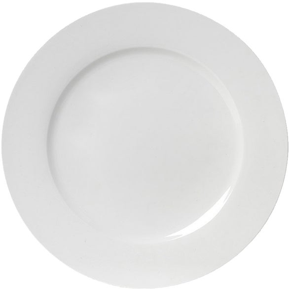 White Large Plate
