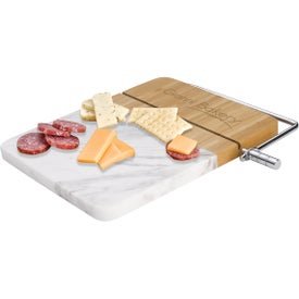 Marble Cutting Board Charcuterie Set