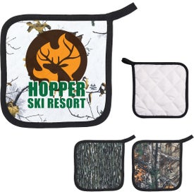Realtree Quilted Pot Holder