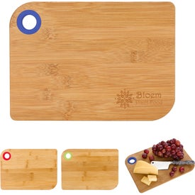 Silicone Ring Bamboo Cutting Board