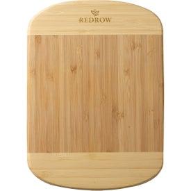Small Two-Tone Bamboo Cutting Board