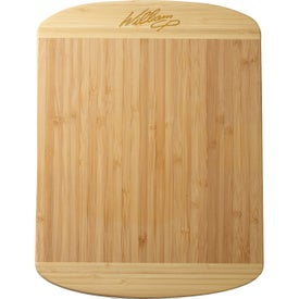 Two-Tone Bamboo Cutting Board