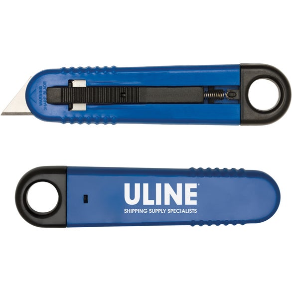 Blue Flip-It Safety Cutter