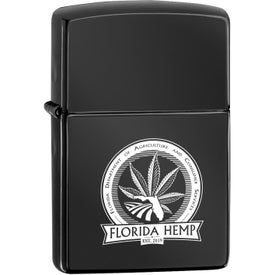 High Polish Black Zippo Windproof Lighters