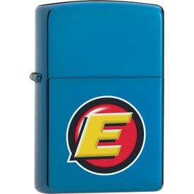 High Polish Blue Zippo Windproof Lighters