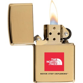 High Polish Brass Zippo Windproof Lighters